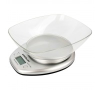 Весы кухонные ERGOLUX ELX-SK04-C03 серые, до 5кг