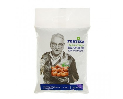 Удобрение сухое ФЕРТИКА Картофельное 2,5кг