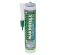 Герметик силиконовый MAKROFLEX санитарный, серый