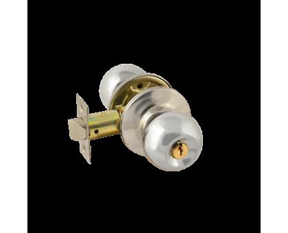 Защелка м/к (ключ/фикс.) ЗШ-01 (хром)