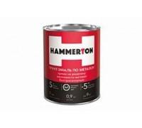 """Грунт-эмаль по ржавчине 3в1 """"HAMMERTON"""" белая 0,9л"""