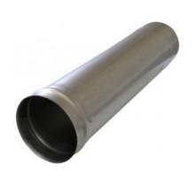 Труба дымоходная d-150мм (0,5) черная сталь 0,5м