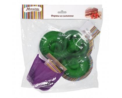 """Набор из силикона 2 предмета (форма для выпечки """"Змея"""", прихватка) Marmiton"""
