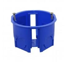 Коробка установочная СП 68х45мм синяя IP20 TDM