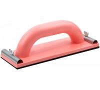 Терка для шлифования с ручкой 12х28мм резин.накладка 4мм