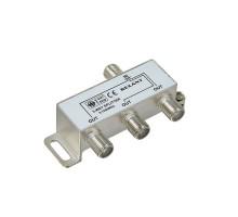 Делитель ТВ х 3 под F разъем 5-1000МГц REXANT