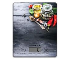 Весы кухонные ERGOLUX ELX-SK02-C02 черные, до 5кг
