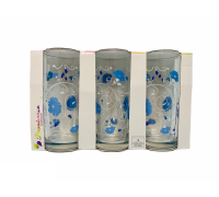 Набор стаканов PASABAHCE Blue Serenade 3шт х 290мл 42402