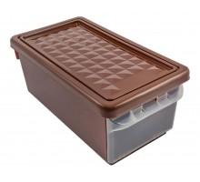 Ящик для хранения BRANQ 15л бордовый