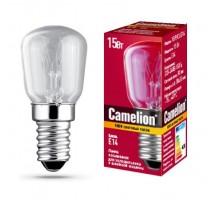 Лампа накаливания Camelion 15/P/CL/E14 для холодильников и швейных машин