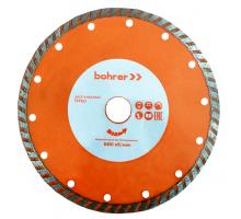 Диск алмазный Bohrer Мастер 230х22,2 (сегмент 7мм) (турбо), сухой рез, по бетону/кирпичу/камню