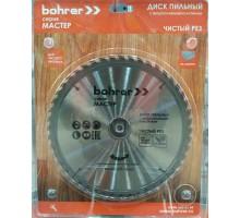 Диск пильный по дереву Bohrer Мастер 235x30/20 мм, 24Т зуба (быстрый рез)