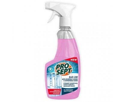 PROSEPT Bath Uni средство для санитарных комнат с антимикробным эффектом, концентрат 0,5л