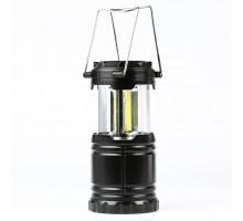Фонарь кемпинговый светодиодный (большой), 3COB, 3хАА, пластик