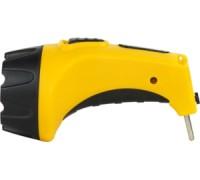Фонарь ручной светодиодный аккумуляторный, 1LED, пластик