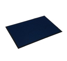 Коврик влаговпитывающий, ребристый 60х90см, синий