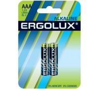 Батарейка ERGOLUX LR03 Alkaline BL-2