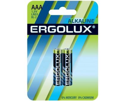 Батарейка ERGOLUX LR03 Alkaline BL-2 купить
