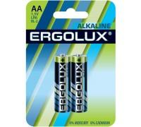 Батарейка ERGOLUX LR6 Alkaline BL-2