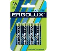 Батарейка ERGOLUX LR6 Alkaline BL-4