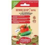 "Инсектицид ""Октябрина Апрелевна"" Имидор для огурцов от тли и белокрылки 1мл"
