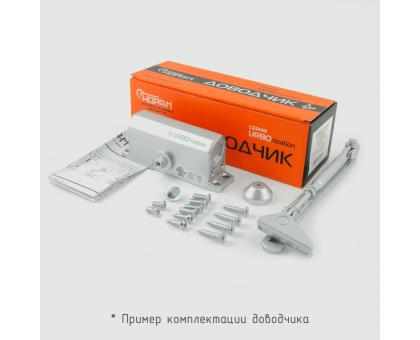Доводчик 510 URBOnization (15-60кг) морозостойкий, серебро