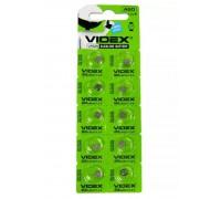 Батарейка VIDEX AG0 379, 521 10BP