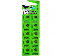 Батарейка VIDEX AG11 362, 721 10BP