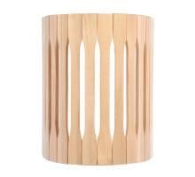 Абажур для светильника, настенный, липа, 30х16х25см