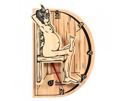 """Термометр """"В здоровом теле-здоровый дух"""" 19,8х13,4х3,3см для бани и сауны"""