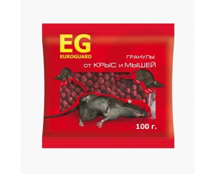 Родентицид EUROGUARD от крыс и мышей, гранулы 100г