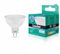 Лампа светодиодиодная Camelion LED5-S108/845/GU5.3 JCDR 5Вт 220B