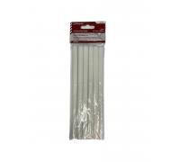 Стержни клеевые (белые) 11мм х 200мм, Политех 6шт