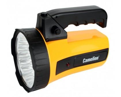 Фонарь аккумуляторный Camelion LED29316 220В, желтый, 43LED, 6В 4Ач купить