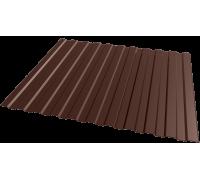 Профлист С8 RAL8017 шоколадно-коричневый 1200х2000мм ЭКОНОМ