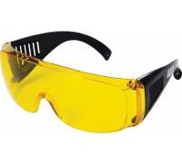 Очки защитные жёлтые с дужками