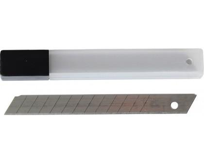 Лезвия запасные для ножа пистолетного 18мм, набор 10шт в футляре
