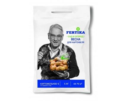 Удобрение сухое ФЕРТИКА Картофельное 5,0кг