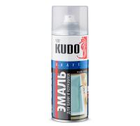 """Краска аэрозоль """"KUDO"""" для ванн и керамики, белая 520мл KU-1301"""