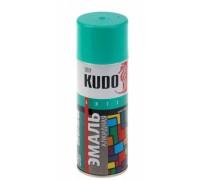 """Краска аэрозоль """"KUDO"""" бирюзовая 520мл KU-1020"""