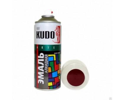 "Краска аэрозоль ""KUDO"" бордовая 520мл KU-10045"