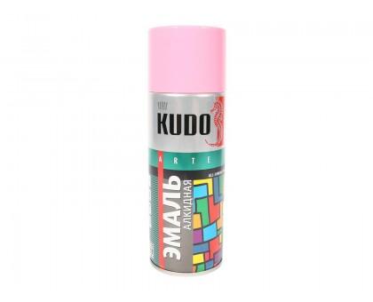 "Краска аэрозоль ""KUDO"" розовая 520мл KU-1014"