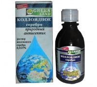 Коллоидное серебро - природный антисептик 30мл