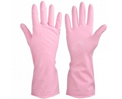 """Перчатки резиновые прочные с запахом лаванды L """"VETTA"""""""