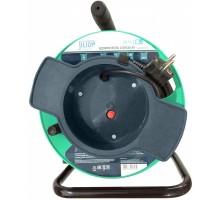 Удлинитель на катушке UK-1g-20m-Z с 1 евророзеткой ( с/з )  20м