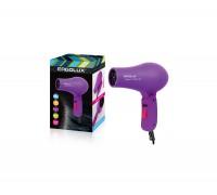 Фен электрический со складной ручкой ERGOLUX ELX-HD05-C12 1,0кВт фиолетовый
