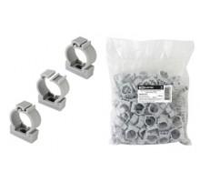 Крепеж-клипса для трубы 20мм с фиксатором TDM