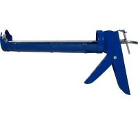Пистолет для герметика полукорпусной с гладким штоком d-7мм 320мл