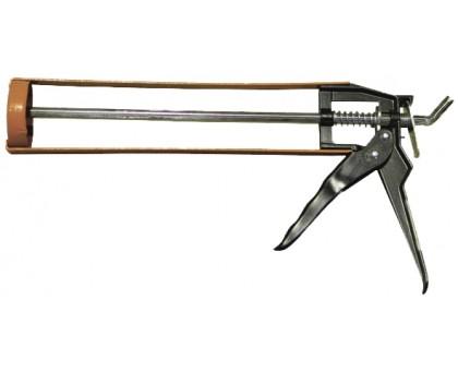 """Пистолет для герметика скелетообразный """"Эксперт"""" с шестигранным штоком 320мл"""