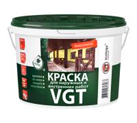 Краска ВД АК 1180 моющаяся, белоснежная для наружных и внутренних работ 1,5кг ВГТ